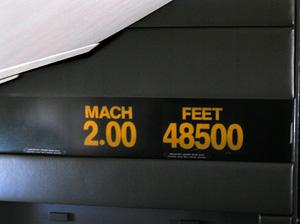 Concorde Mach Indicator